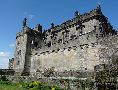 Ancient Photograph - Stirling Castle Walls by Deborah Smolinske