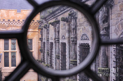 Photograph - Stirling Castle Window by Kate Purdy