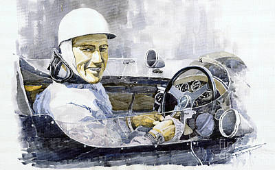 Stirling Moss Art Print