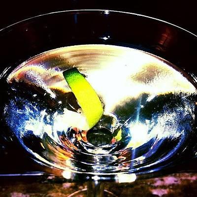 Martini Photograph - Stirred Not Shaken Martini by Amyn Nasser