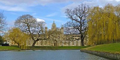 Photograph - St.john's College Cambridge by Gill Billington