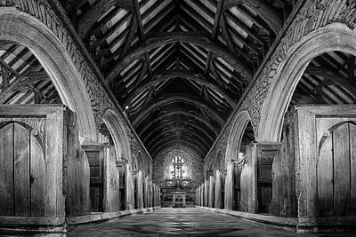 Church Architecture Photograph - St.just Church by Xavier Garci