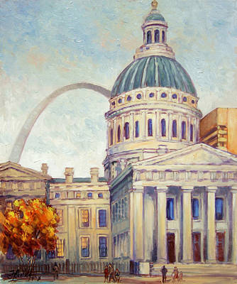 St.louis Old Courthouse Art Print