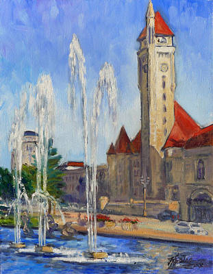 St.louis Union Station 1 Art Print