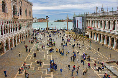 Photograph - St. Marks Square by Crystal Nederman