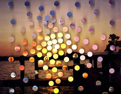 Mixed Media - Stmichaels Sunsetsegue1 by Irmari Nacht