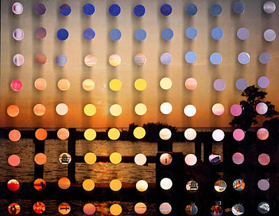 Mixed Media - Stmichaels Sunsetsegue2 by Irmari Nacht