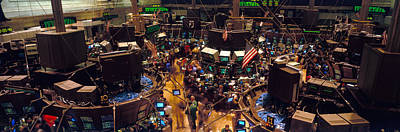 Trader Photograph - Stock Exchange, Nyc, New York City, New by Panoramic Images