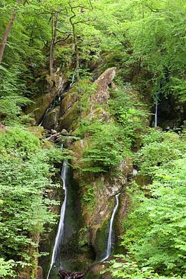 Dry Lake Photograph - Stock Ghyll Waterfall In Drought by Ashley Cooper
