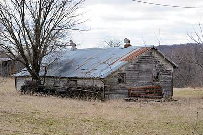 Photograph - Stock Shed by Bonfire Photography
