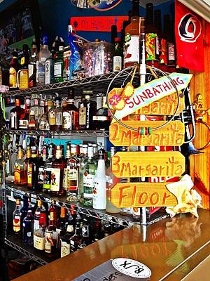 Photograph - Stocked Bar At Jax by Joan Meyland