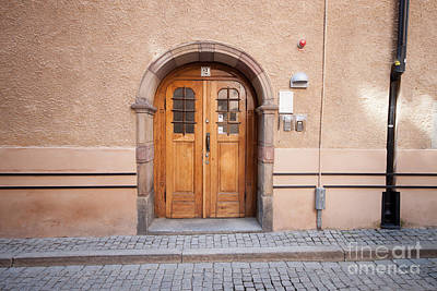 Door Photograph - Stockholm Door Sweden by Thomas Marchessault
