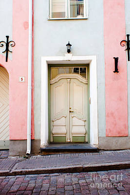 Stockholm Doorway Print by Thomas Marchessault