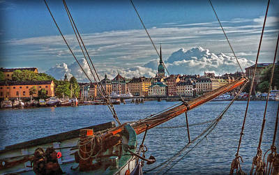 Photograph - Stockholm by Hanny Heim
