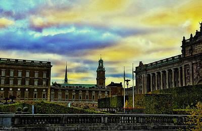 Stockholm Photograph - Stockholm II by Ramon Martinez