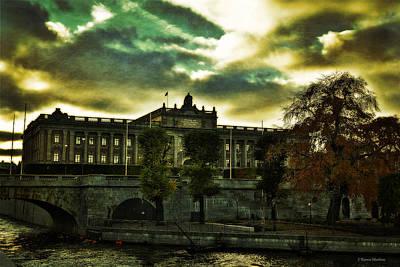 Autum Photograph - Stockholm In Autumn Iv by Ramon Martinez