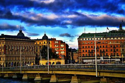 Stockholm In Color Art Print