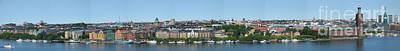 Photograph - Stockholm Panoramic View by Pg Reproductions