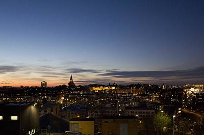 Photograph - Stockholm Silhouette by Daniel Sheldon
