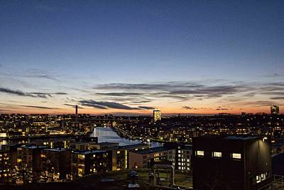 Photograph - Stockholm Sunset by Daniel Sheldon