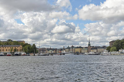 Photograph - Stockholm Harbor by Marianne Campolongo