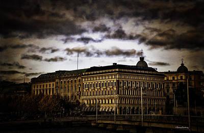 Stockholm V Print by Ramon Martinez