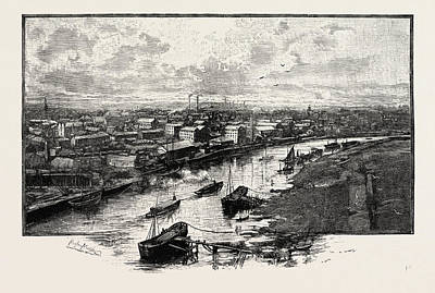Stockton Drawing - Stockton, Uk by English School