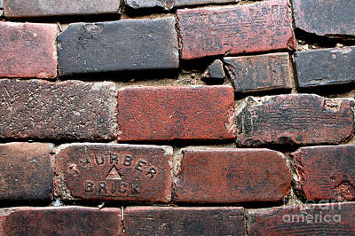 Drawing - Stockyards Brick by Michelle Wolff