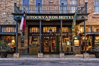 Stockyards Hotel Art Print