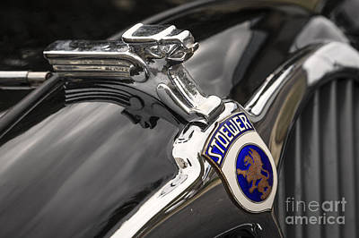 Photograph - Stoewer Greif Hood Ornament by Dennis Hedberg