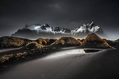 Tourist Attraction Photograph - Stokksnes | Iceland by Benoit Malaussena