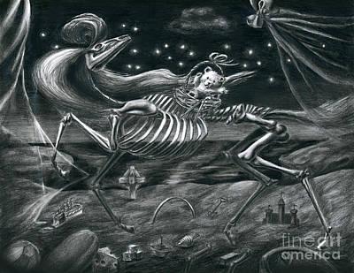 Stolen Childhood Art Print by Alisa Bogodarova