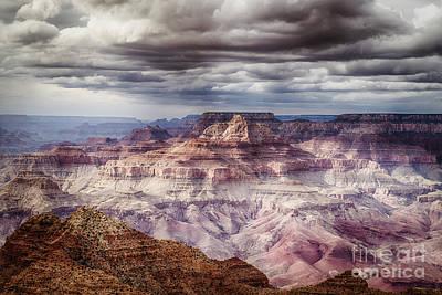 Grand Canyon Photograph - Stom At The Grand Canyon by Jennifer Magallon