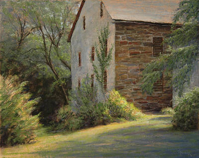 Painting - Stone And Ivy by Gary Huber