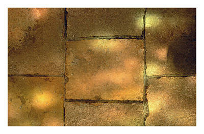 Photograph - Stone And Light 08 by Gene Norris