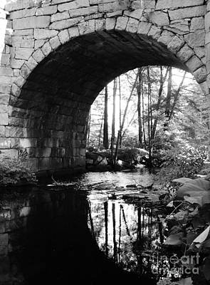 Photograph - Stone Arch Bridge 2 by Barbara Bardzik