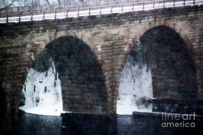 Photograph - Stone Arch Bridge by A K Dayton