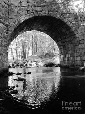 Photograph - Stone Arch Bridge  by Barbara Bardzik