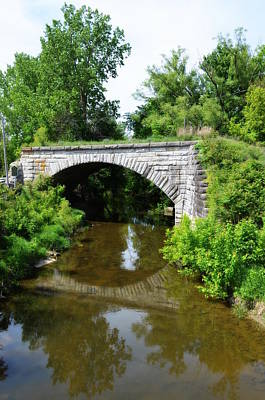 Photograph - Stone Arch Bridge - Bean Creek by Jennifer  King