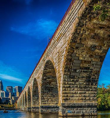 Stone Arch Bridge By Paul Freidlund Art Print
