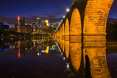 Minneapolis-st. Paul Photograph - Stone Arch by Bryan Scott