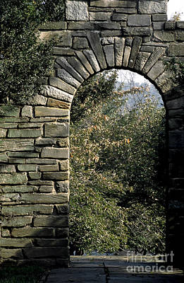 Photograph - Stone Arch In Autumn by William Kuta