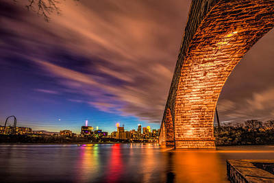 Photograph - Stone Arch Minneapolis by Mark Goodman