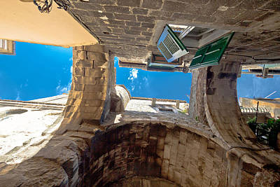 Photograph - Stone Architecture Of Split Old City Center by Brch Photography