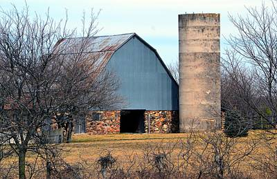 Photograph - Stone Barn by Deena Stoddard
