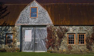 Photograph - Stone Barn II by Wayne Meyer