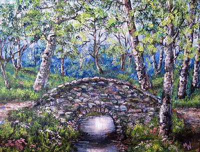 Stone Bridge 2 Art Print