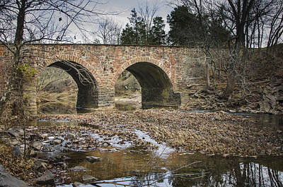 Photograph - Stone Bridge 3 by Bradley Clay