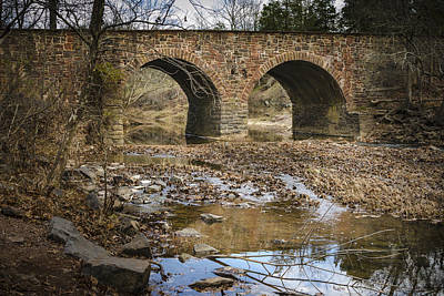 Photograph - Stone Bridge 4 by Bradley Clay