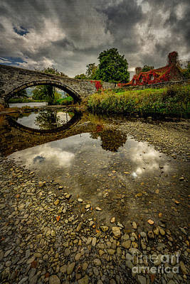 Stone Buildings Digital Art - Stone Bridge by Adrian Evans